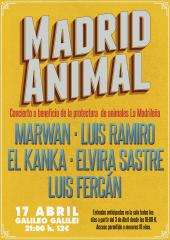 MADRID ANIMAL - Concierto a beneficio de
